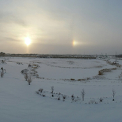 3 suns in winter