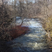 Spencer Creek at Crooks Hollow Road in Greensville.