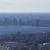 From high above the CN tower