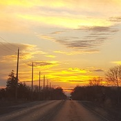 Sunset - Cambridge, Ontario
