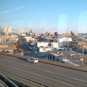 Great View from c-train