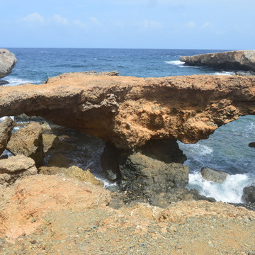 A another Natural Bridge in Aruba