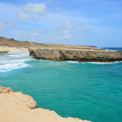 A secluded Bay in Aruba