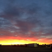 Another beautiful sunrise on the prairies