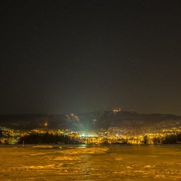 Tremblant at night.