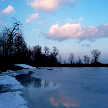 Mac Johnson Wildlife Area - Winter
