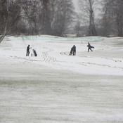 Snow Golf at Quilchena Golf and Country Club
