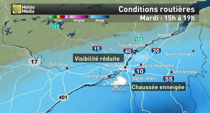 Condition Routiere Quebec >> Nouvelles Conditions De Blizzard Et 60 Cm De Neige Prevus Voyez