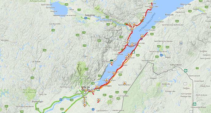 Condition Routiere Quebec >> Nouvelles 75 Cm De Neige Depasses Par Endroits Meteomedia