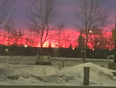 Sky on fire - Calgary, AB, CA