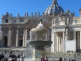 St. Peters Square Rome Italy