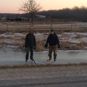 Manitoba ditch hockey