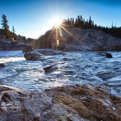 a visit to Elbow Falls