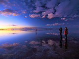 Sky mirror - Uyuni, Bolivia