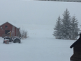 March snow storm - Glendon, AB, CA