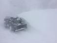 Snow drift in my driveway - Lamaline, NL, CA
