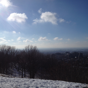 North Face lookout Mont-Royal.