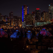 Edmonton city lights