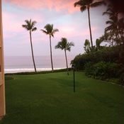 Early morning in Wailea Maui