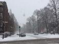 Snow Falls Everywhere - Montreal, QC