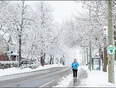 An enchanting jog through snow Wonderland! - 200 Lakeshore Drive, Dorval, QC