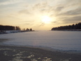 sunrise after the snowy night - 520 Island Dr, Thunder Bay, ON P7C 6B8,