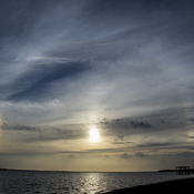 Last Nights Sundog Sunset