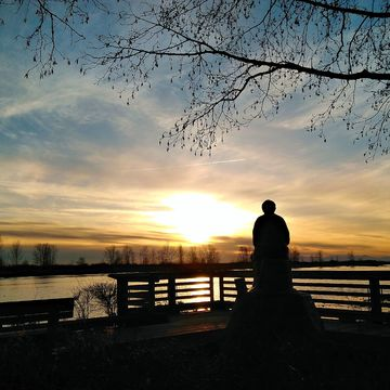 Sunset in Steveston, BC