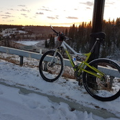 Winter biking....
