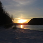 Sunset in Conne River NL