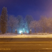 Prime Minister Sir Wilfred Laurier Tomb in Morning Mist
