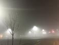 Heavy Fog - Edmonton, AB, CA
