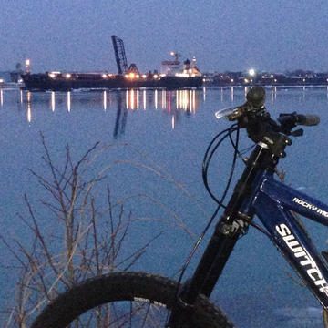 Nice night for a bike ride.