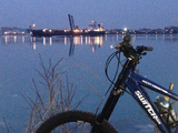 Nice night for a bike ride.  - Sarnia, ON, CA