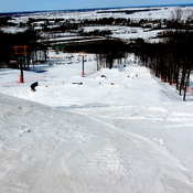 Great day Skiing at Mont Rigaud