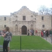 Beautiful day in San Antonio at The Alamo