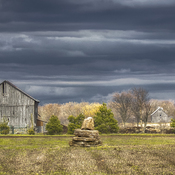 Old Barns and Dark Skies