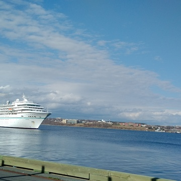 Cruise ship @ Halifax, NS