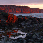 Red Sunset Cliffs
