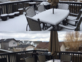 April 25th 2017 Time lapse of 8 hours 6 mins .. 8:04am-4:10pm..  - Calgary, AB, CA