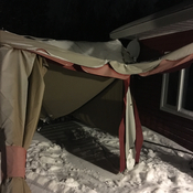 My poor gazebo..
