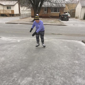 April skate in Thunder Bay