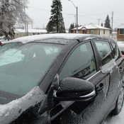 Ice Storm in Thunder Bay, ON