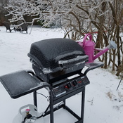 bbq season on hold for a few more weeks