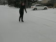 Skating in the streets!  - Thunder Bay, ON, CA