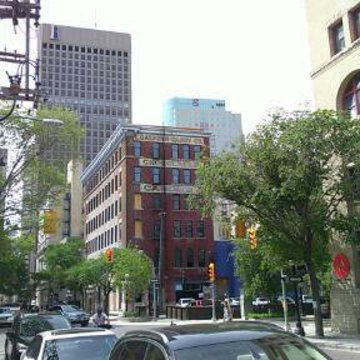 #cityscape - downtown Winnipeg in May 2016