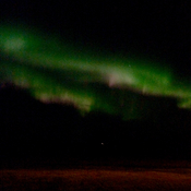 Northern lights in Botha Alberta