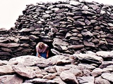 Prehistoric Beehive Hut Ireland - Dingle Peninsula, Ireland