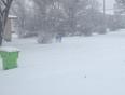Snowy morning - Rosetown, SK, CA