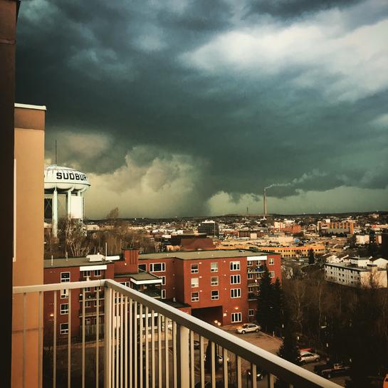 Thunder storm in Sudbury Sudbury, Ontario, CA